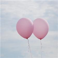 彩色气球唯美图片大全