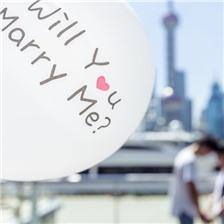 求婚告白气球图片大全