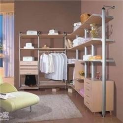 现代时尚卧室衣帽间设计效果图