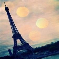 富有意境的埃菲尔铁塔唯美图片欣赏