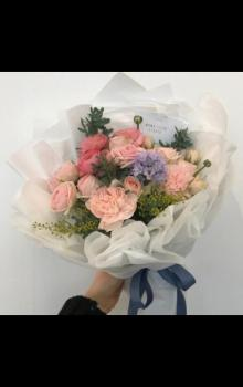 唯美花束图片 精致小花束图片