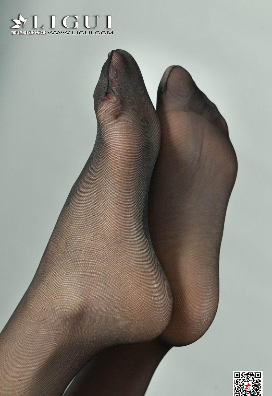 极品美女黑丝美腿丽柜美女模特性感情趣内衣高清套图