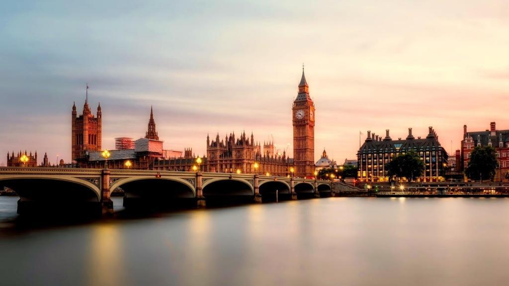 英国伦敦城市建筑风光